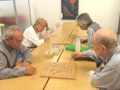 根強い人気の将棋